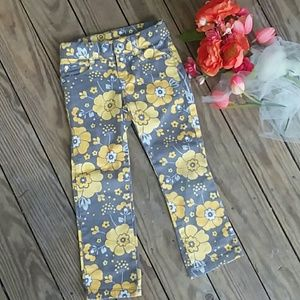Gymboree Floral Pants